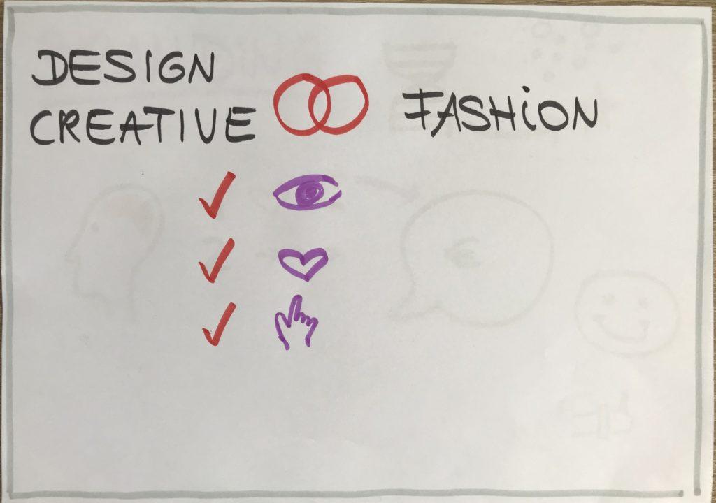 Commonalities designers versus fashion