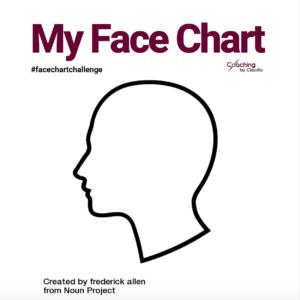 Face chart template